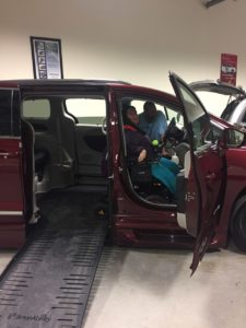 New car for disabilities