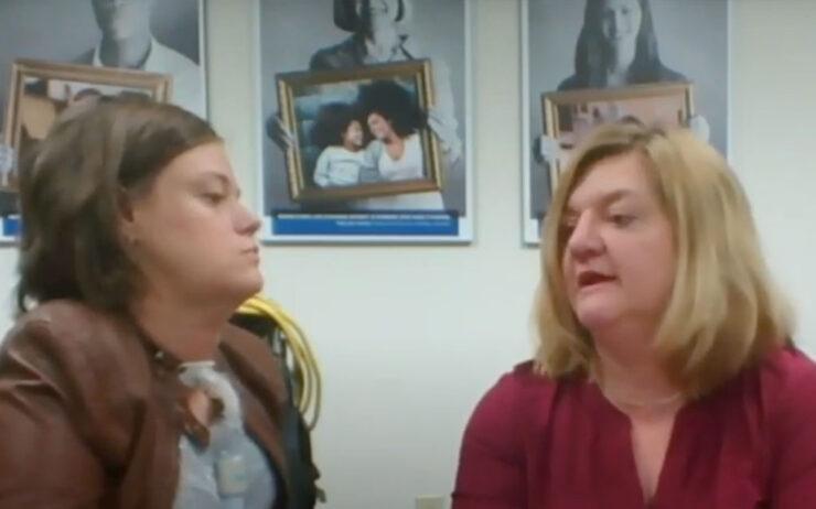 Dr. Josie Badger and Joy Smith